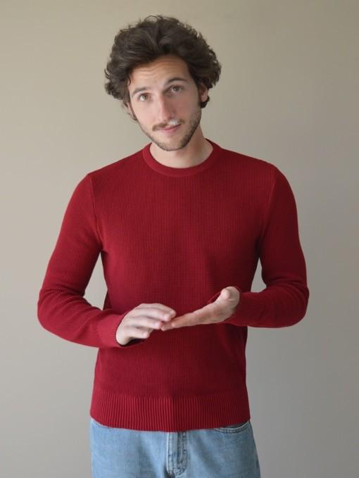 Le jacques rouge cerise - Au Juste num 2