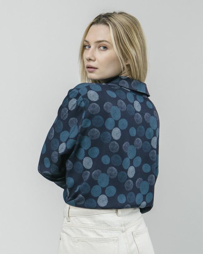 Hana bloom printed blouse - Brava Fabrics num 5
