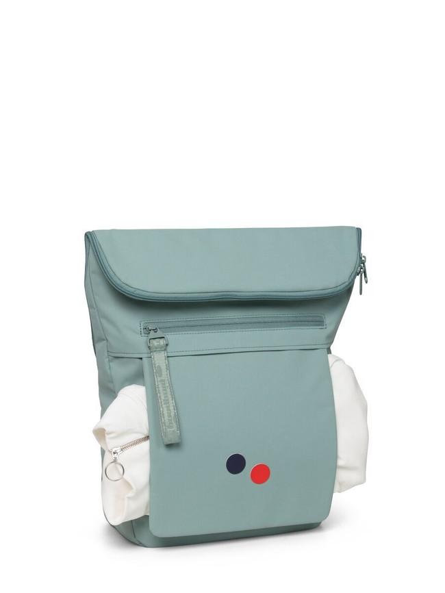 Sac à dos vert menthe recyclé - klak - pinqponq num 3