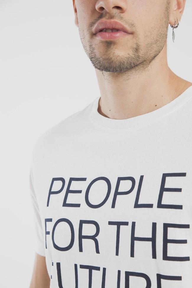 T-shirt en coton bio people for the future - Thinking Mu num 1