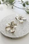 Boucles d'oreilles fleur murraya - argent recyclé - Elle & Sens - 2