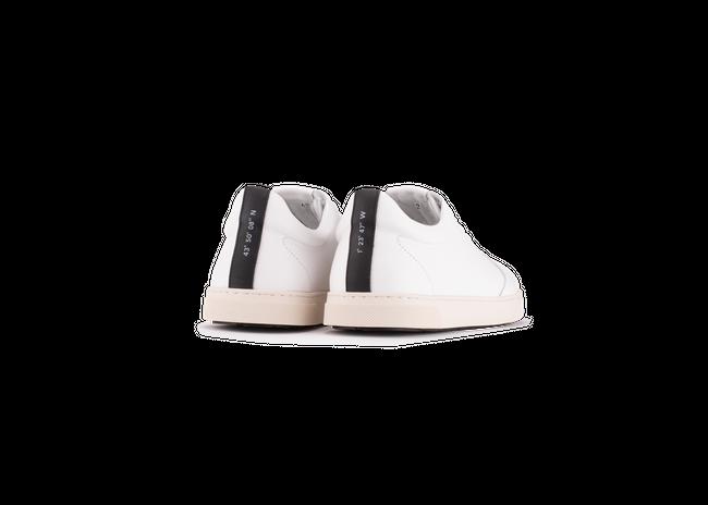 Chaussure en gravière cuir blanc / semelle off-white - Oth num 2