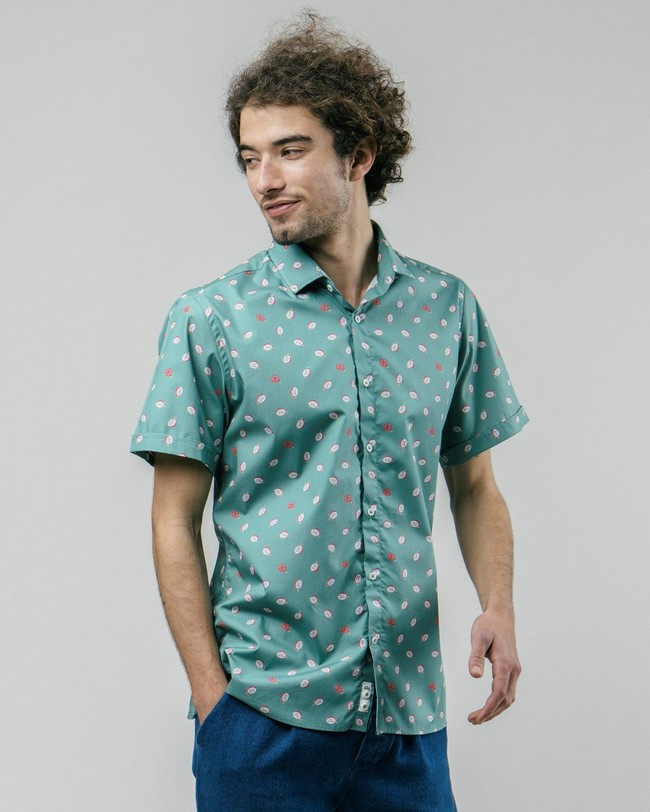 Pitaya paradise printed shirt - Brava Fabrics