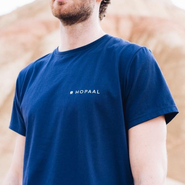 T-shirt recyclé - édition navy - Hopaal num 2