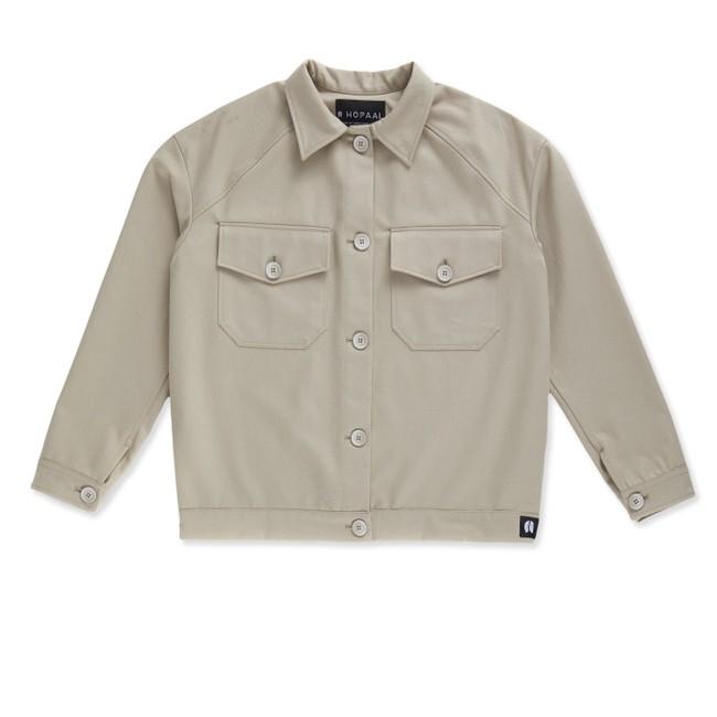 Veste recyclée - la veste authentique beige - Hopaal