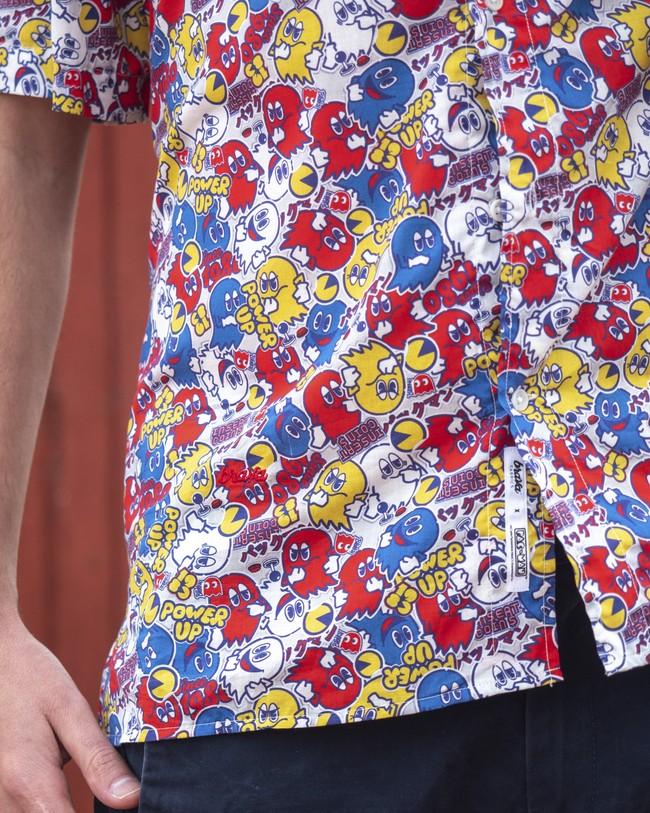Power up pac-man™ x brava   aloha shirt - Brava Fabrics num 6