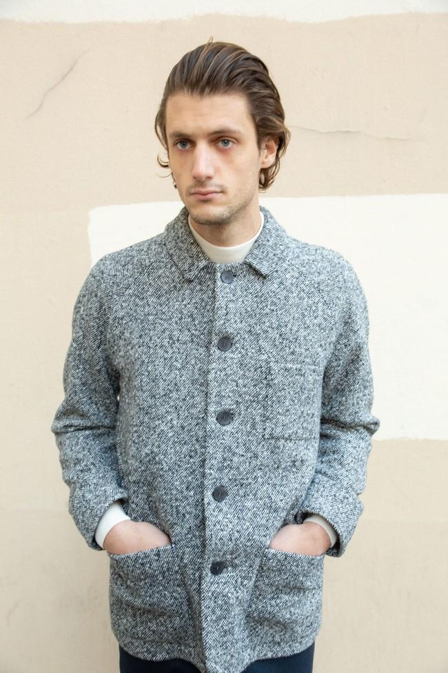 Veste sapporo laine poivrée - Noyoco num 4