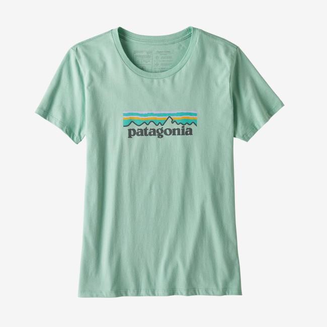 T-shirt imprimé vert pâle en coton bio - pastel p6 - Patagonia num 2