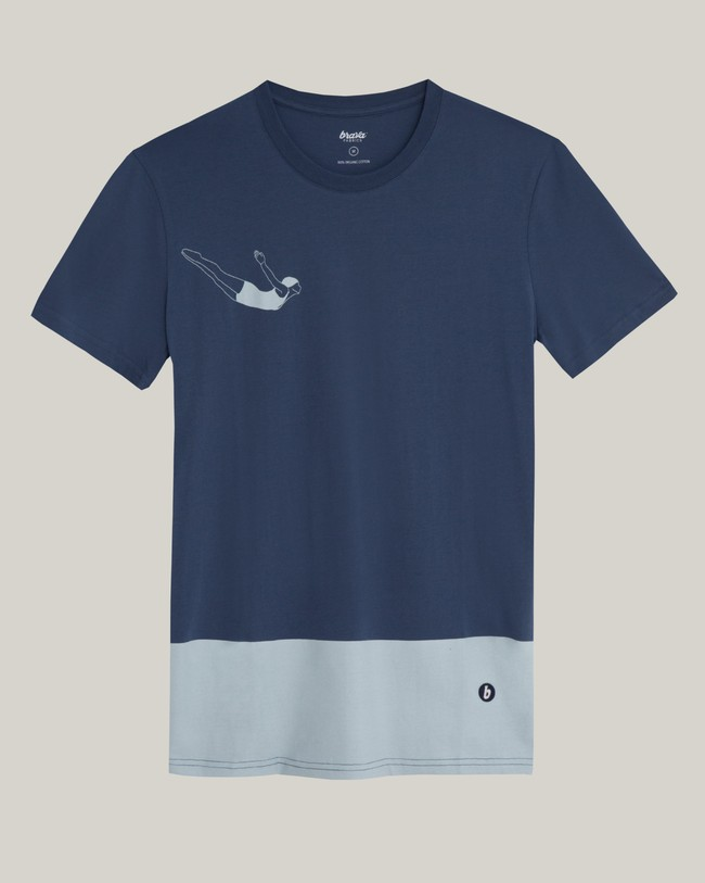 Vintage swimmer t-shirt - Brava Fabrics num 1