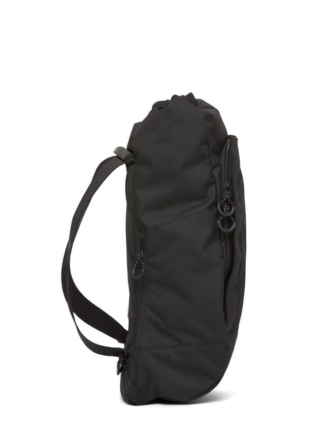 Sac à dos noir recyclé - kalm - pinqponq num 3