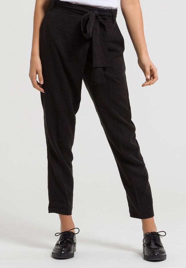 Pantalon noir en tencel - jolena - Armedangels