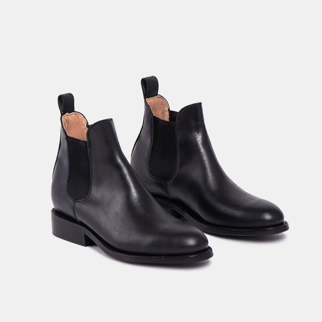 Pedro chelsea tire boot black - Cano num 2