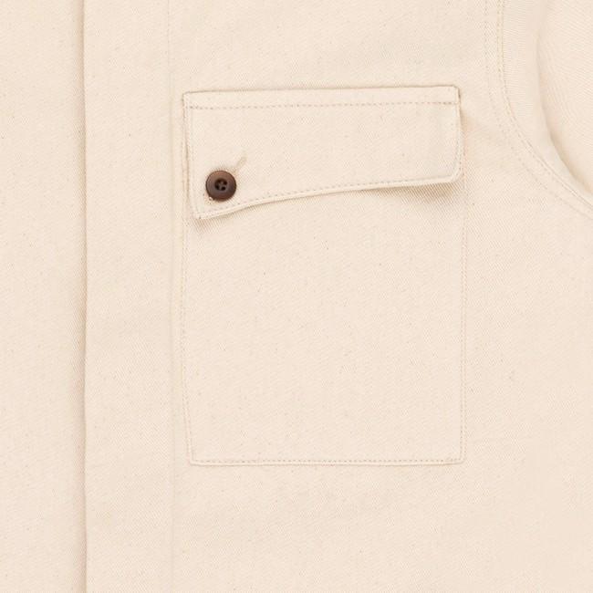 Veste en coton bio white akemi - Bask in the Sun num 2