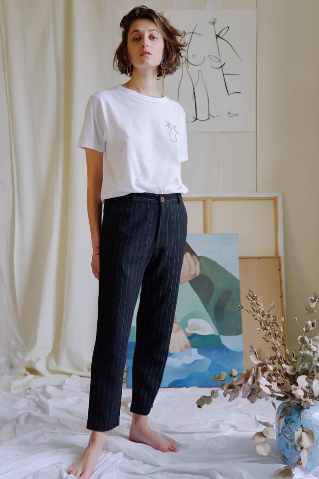 T-shirt coton bio - noyoco x diane - Noyoco num 4