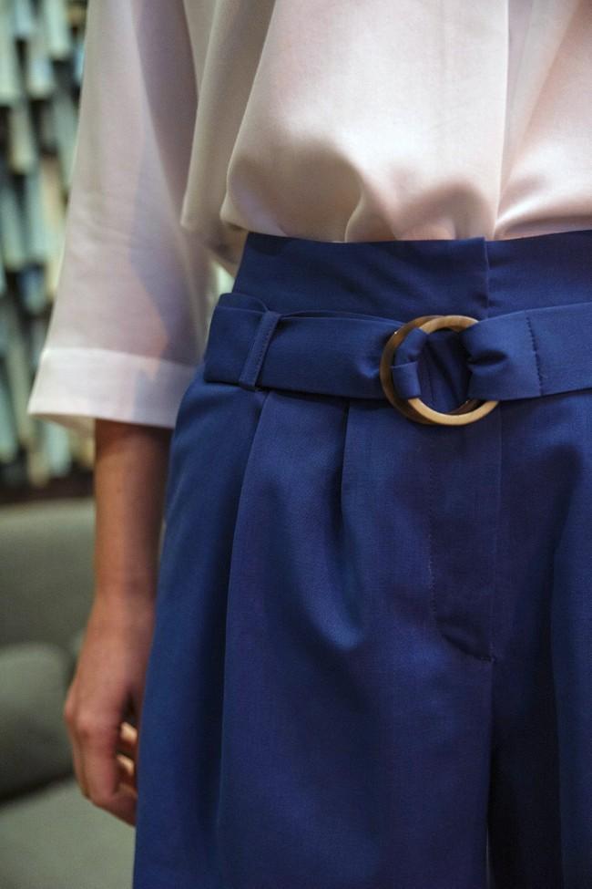 Short tailleur rome bleu royal - 17h10 num 1