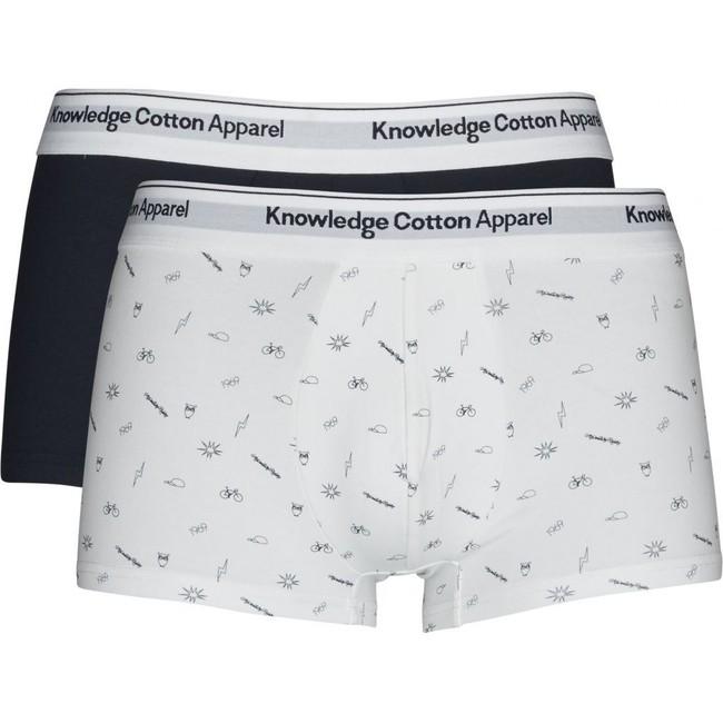 Pack boxers en coton bio - Knowledge Cotton Apparel