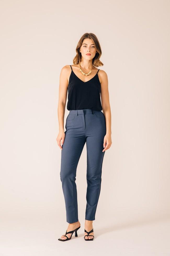 Pantalon tailleur new-york pétrole - 17h10 num 2