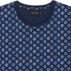 T-shirt en coton bio navy geofish - Bask in the Sun - 2