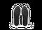 Chaussure en glencoe cuir blanc / suède gris clair - Oth num 4