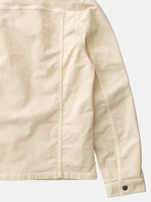 Veste en velours écru en coton bio - ronny - Nudie Jeans num 6
