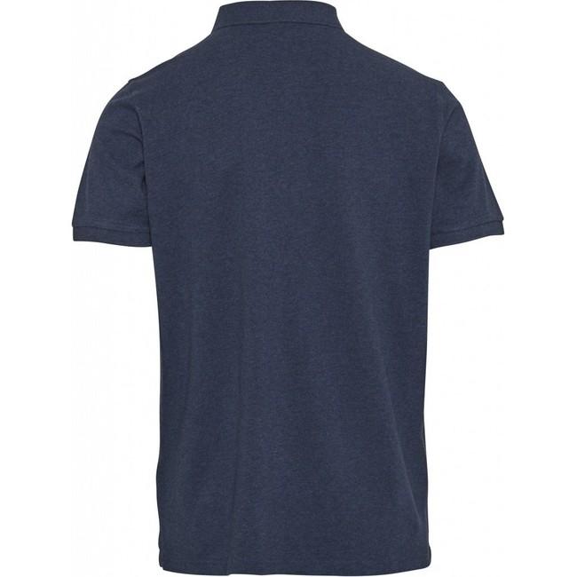 Polo bleu marine en coton bio - pique polo - Knowledge Cotton Apparel num 1