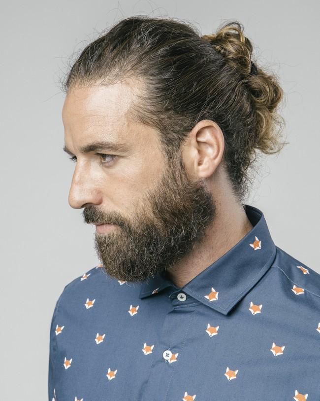 Fox in the snow shirt - Brava Fabrics num 4