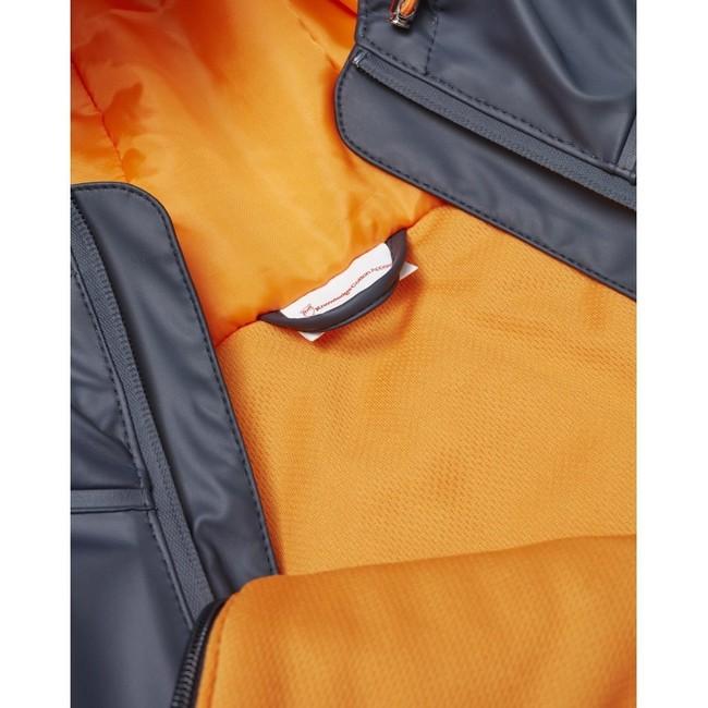 Anorak marine en polyester recyclé - Knowledge Cotton Apparel num 2
