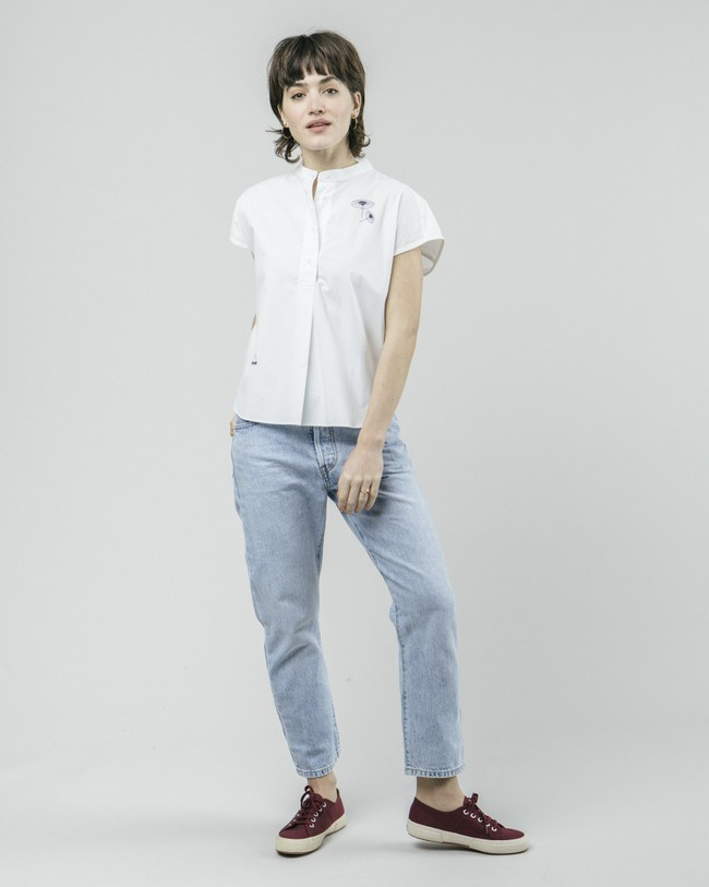 The osaka parasol essential blouse - Brava Fabrics num 3
