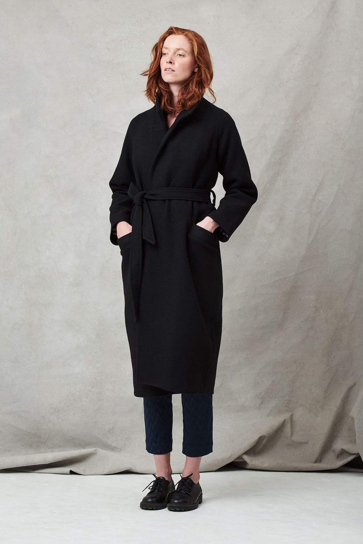 Manteau long noir - Les Récupérables
