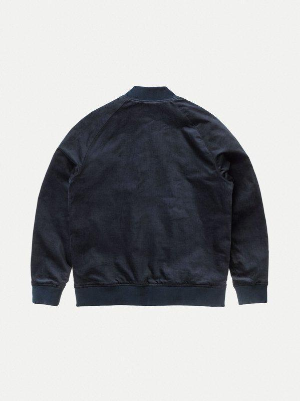 Veste bomber marine en coton bio - mark - Nudie Jeans num 8
