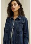 Veste en jean en coton bio - kelia - People Tree - 1