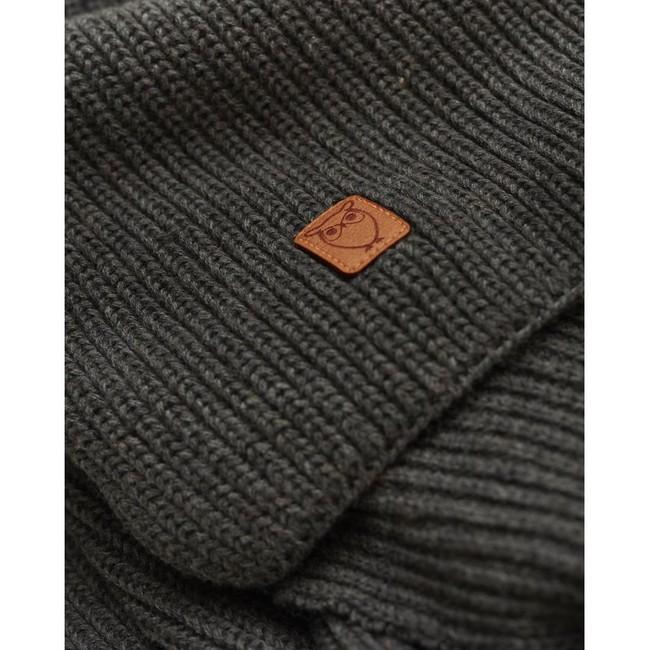 Écharpe grise en coton bio - Knowledge Cotton Apparel num 1
