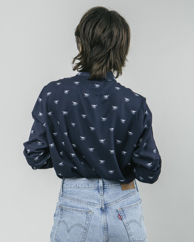 Japanese sky printed blouse - Brava Fabrics num 5