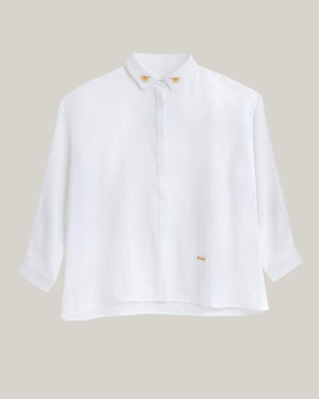 Japanese sky essential blouse - Brava Fabrics num 1