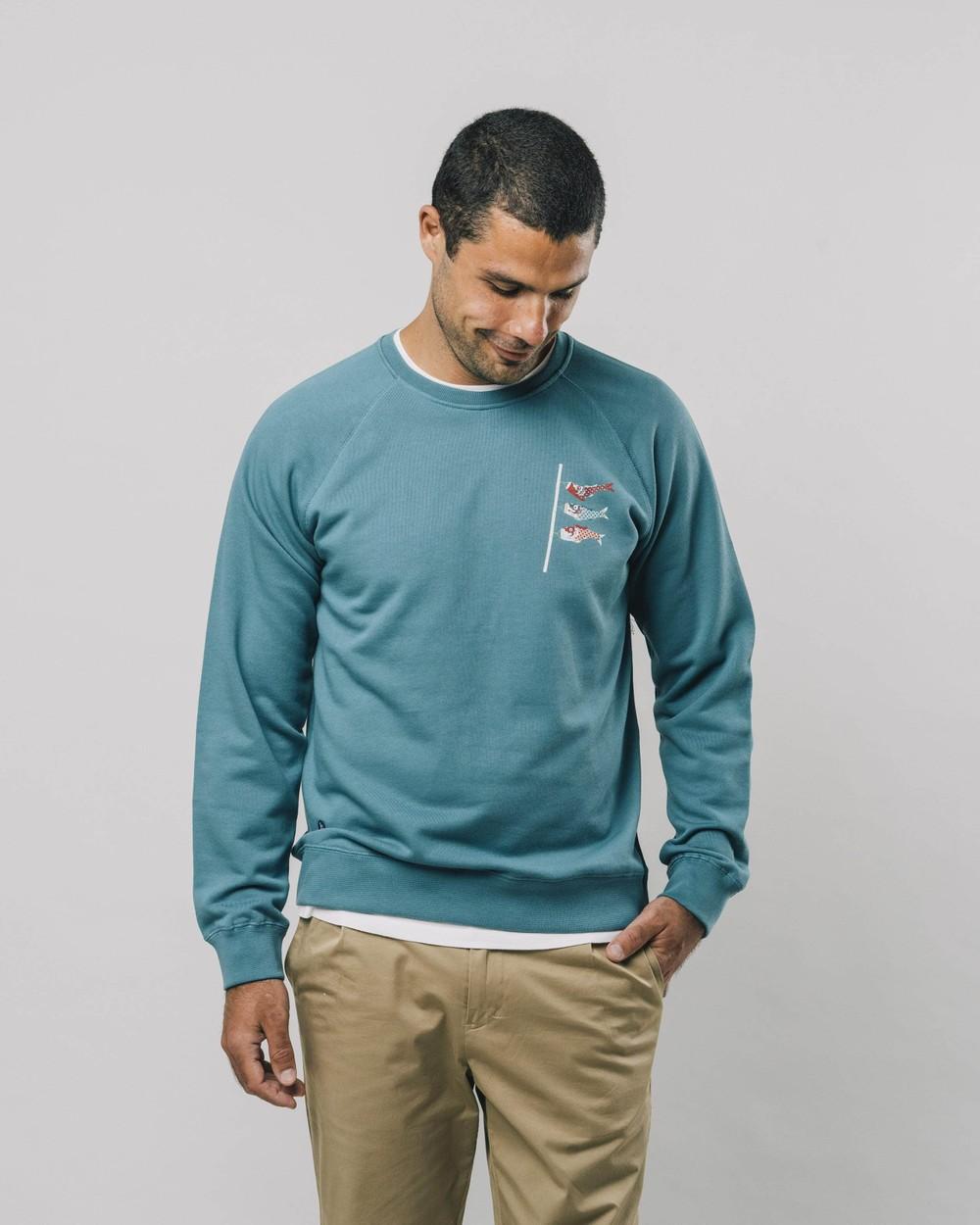 Koinobori kite sweatshirt - Brava Fabrics