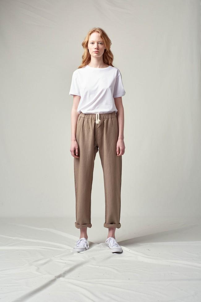Pantalon tenerife en lin - Noyoco num 10