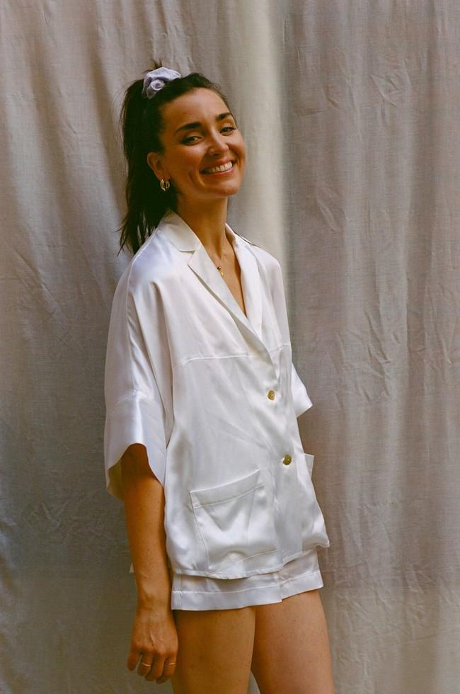Chemise irma blanche - Nénés Paris