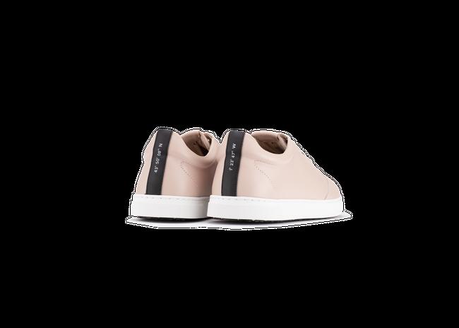 Chaussure en gravière cuir nude / semelle blanc - Oth num 2