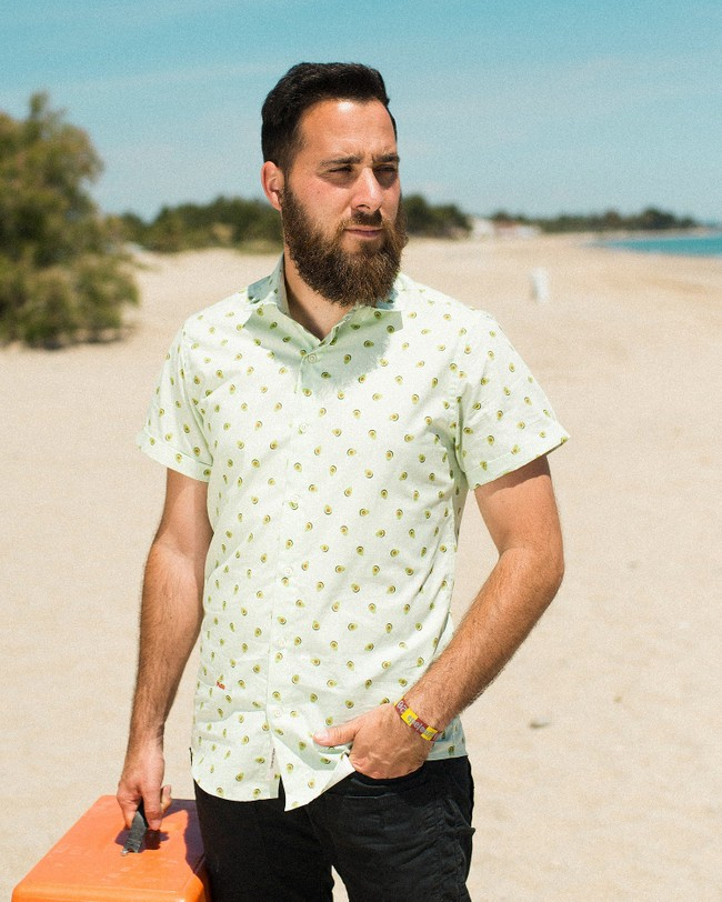 Avocado cocktail printed shirt - Brava Fabrics num 5