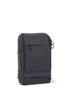 Sac à dos noir recyclé - cubik medium rooted black - pinqponq