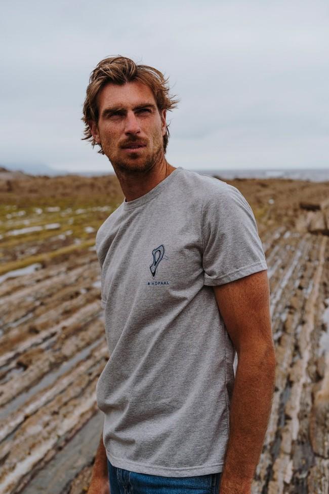 T-shirt recyclé - topo flint - Hopaal num 1