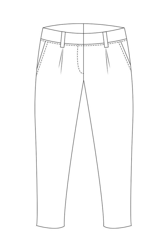 Pantalon tailleur casablanca - 17h10 num 1