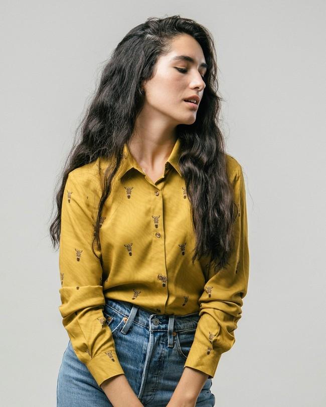 Wild zebra printed blouse - Brava Fabrics