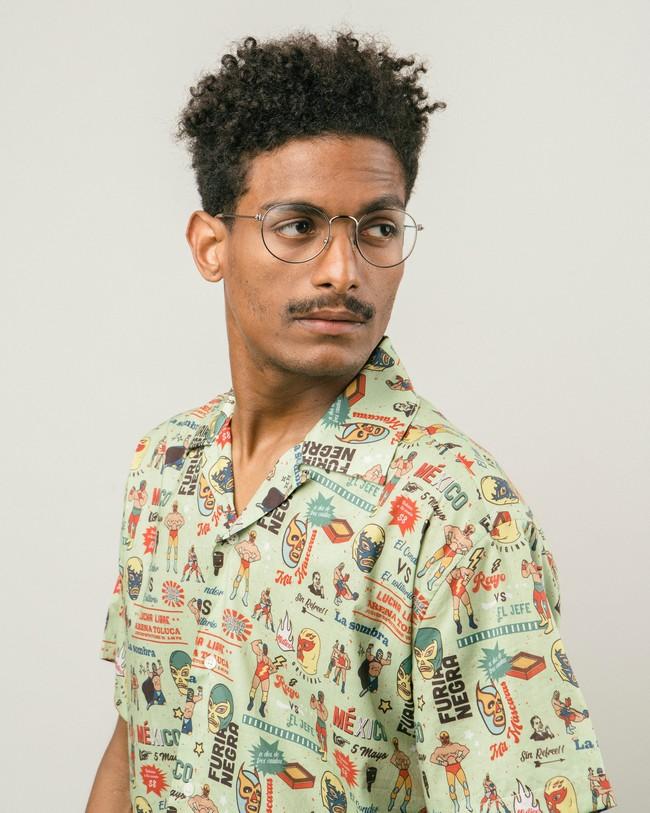 Lucha libre aloha shirt - Brava Fabrics num 3
