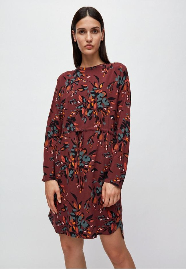 Robe à imprimés floraux en lenzing - edurnaa falling leaves - Armedangels