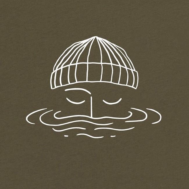 T-shirt en coton bio avocado sailor - Bask in the Sun num 2