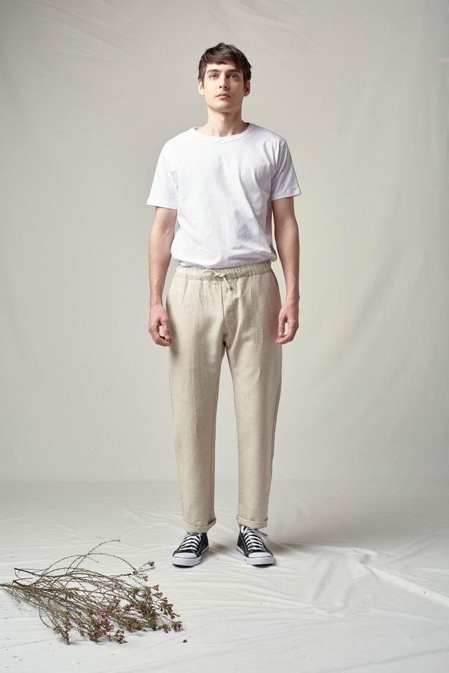 Pantalon tenerife en lin - Noyoco num 4