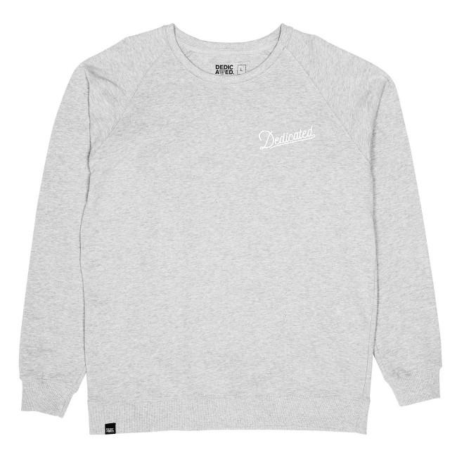 Sweatshirt gris en coton bio - Dedicated