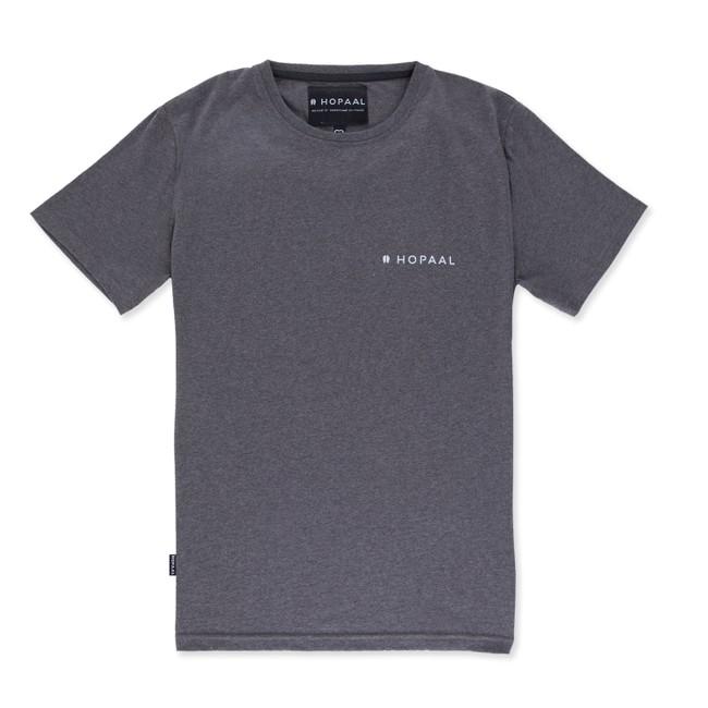 T-shirt recyclé - édition granite - Hopaal