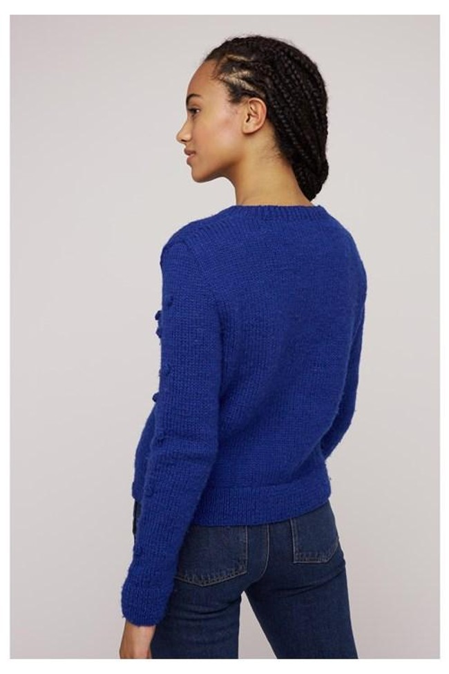Pull bleu en laine - gigi - People Tree num 2